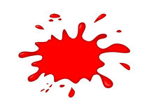 Blood Splash Vector Graphic Royalty Free Stock Photos