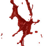 Blood Splashing Royalty Free Stock Photography