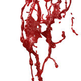 Blood Splashing Royalty Free Stock Photos