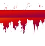 Blood splat Royalty Free Stock Photo