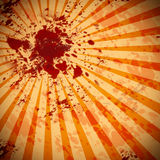 Blood splat background Royalty Free Stock Image