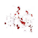 Blood splat Stock Photography