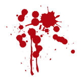 Blood splats Stock Photo