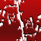 Blood splatter Royalty Free Stock Image
