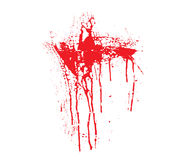 Blood splatter Stock Photos