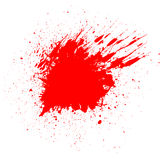 Blood splatter background Stock Photo