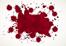 Blood Splatter Background Stock Image