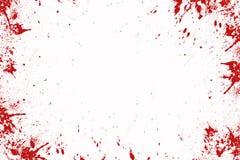 Blood splatter, Halloween background. Blood splatter in front of a white background, Halloween royalty free illustration