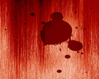 Blood splatter Stock Photo