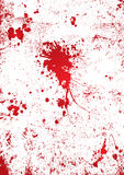 Blood splatter wall Royalty Free Stock Image