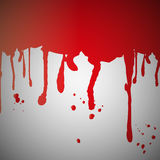 Blood splatter on wall Royalty Free Stock Photography