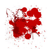 Blood splatters Stock Photo