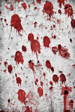 Blood Splatters. Red splatter on a grungy rock wall Stock Image