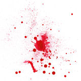 Blood spot Royalty Free Stock Image