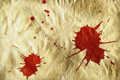 Blood spots Royalty Free Stock Image