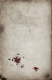 Blood spots on grunge background Royalty Free Stock Photography