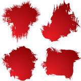Blood stain 4 Royalty Free Stock Photography