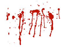 Blood stains Stock Image