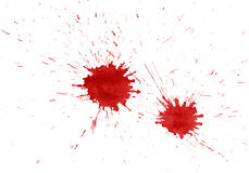 Blood stains Royalty Free Stock Image