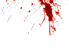 Blood Stains Royalty Free Stock Photography