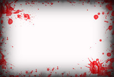 Blood stains background Stock Photography