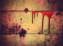 Blood streaks background Royalty Free Stock Photo