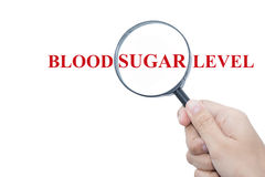 Blood sugar level Stock Photography
