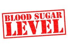 BLOOD SUGAR LEVEL Royalty Free Stock Image