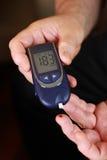 Blood sugar test Royalty Free Stock Images