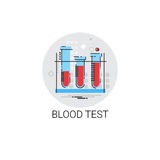 Blood Test Hospital Doctors Clinic Medical Treatment Icon Stock Photo