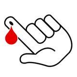Blood test illustration Stock Image