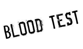 Blood Test rubber stamp Stock Photography