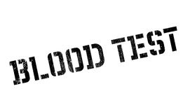 Blood Test rubber stamp Royalty Free Stock Photos