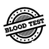 Blood Test rubber stamp Royalty Free Stock Photo