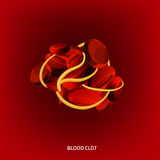 Blood Vector Image Royalty Free Stock Photography