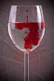 Blood In Water Royalty Free Stock Images