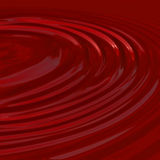 Blood wine or paint. A pool of liquid - plenty of circular ripples - can be used as blood, wine, candy, or even paint Royalty Free Stock Photo