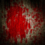 Blood on a wooden wall Stock Photos