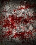 Bloodied background Stock Photography