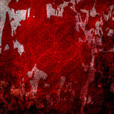 Bloodied grunge wall Royalty Free Stock Photography