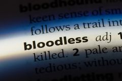 bloodless Stock Photography