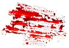 Bloodstain. Isolated on white background stock image