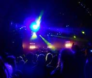 Bloodstock τή νύχτα Στοκ εικόνα με δικαίωμα ελεύθερης χρήσης