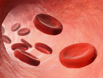 Bloodstream illustration Stock Photo