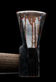 Bloody ax Stock Image