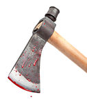 Bloody Axe Royalty Free Stock Photos