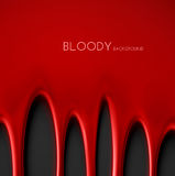 Bloody Background Stock Image
