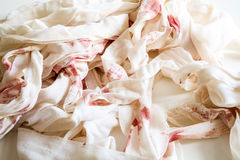 Bloody bandages Royalty Free Stock Images