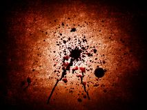 Bloody Blots Royalty Free Stock Image