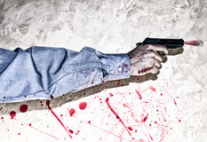 Bloody business Stock Images